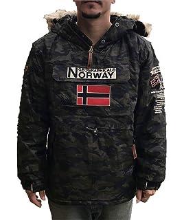 Geographical Norway Chaquetas DE Esqui DE Hombre CAMUFLAGE ...