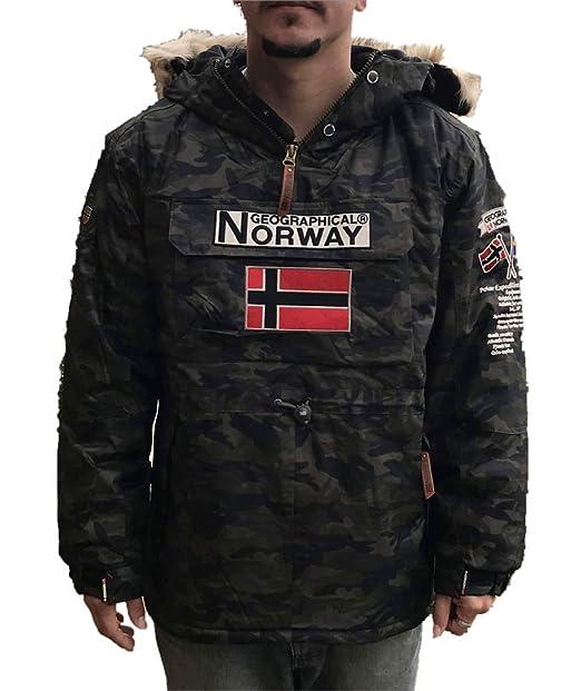 Geographical Norway Chaqueta de Esqui para Hombre Color Camuflage Kaki: Amazon.es: Ropa y accesorios