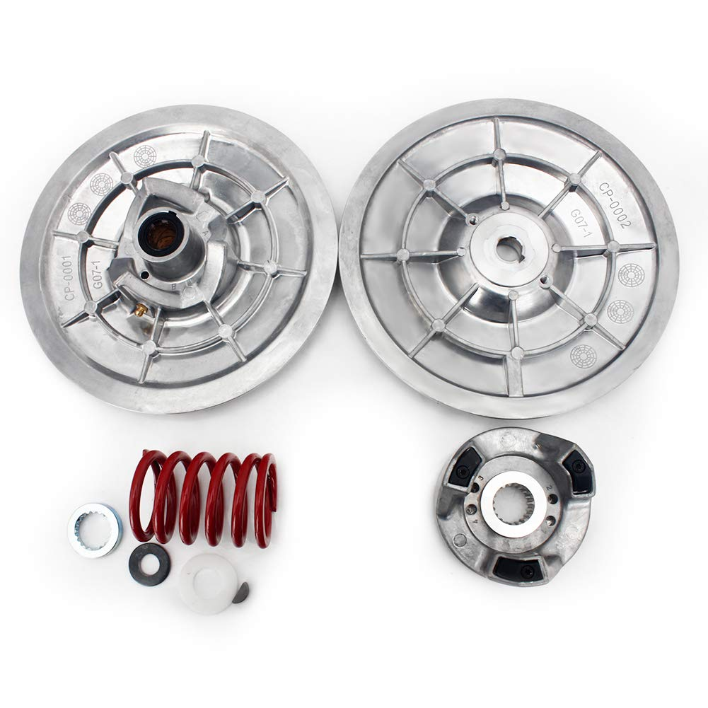 TARAZON Heavy Duty Rear Driven Clutch Kit Secondary Clutch for Yamaha Golf Cart G2 G8 G9 G11 G14 G16 G20 G21 G22 G28 1985-2006 by TARAZON