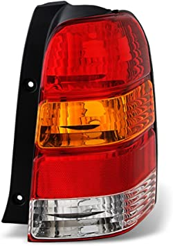 For 2001-2004 Toyota Tacoma Pickup Rear Replacement Tail Light Driver Side Only ACANII