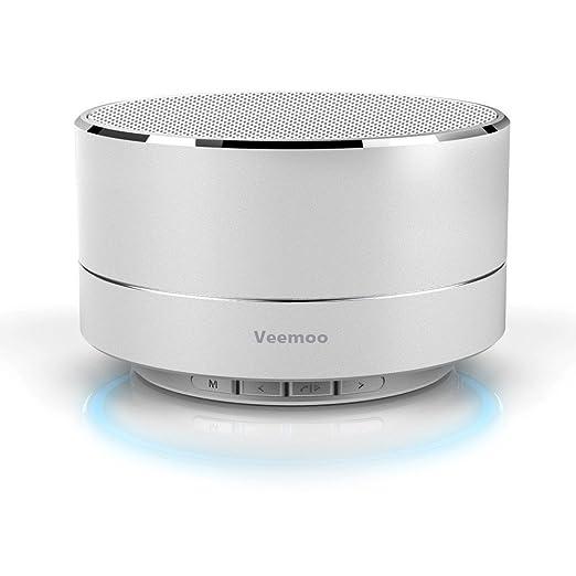 8 opinioni per Veemoo Mini Altoparlante Senza fili Bluetooth Altoparlanti Supporto Radio FM /