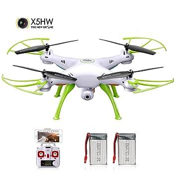 DoDoeleph Syma X5HW 2,4 Frecuencia 6-Axis Gyro FPV Drone cámara de ...