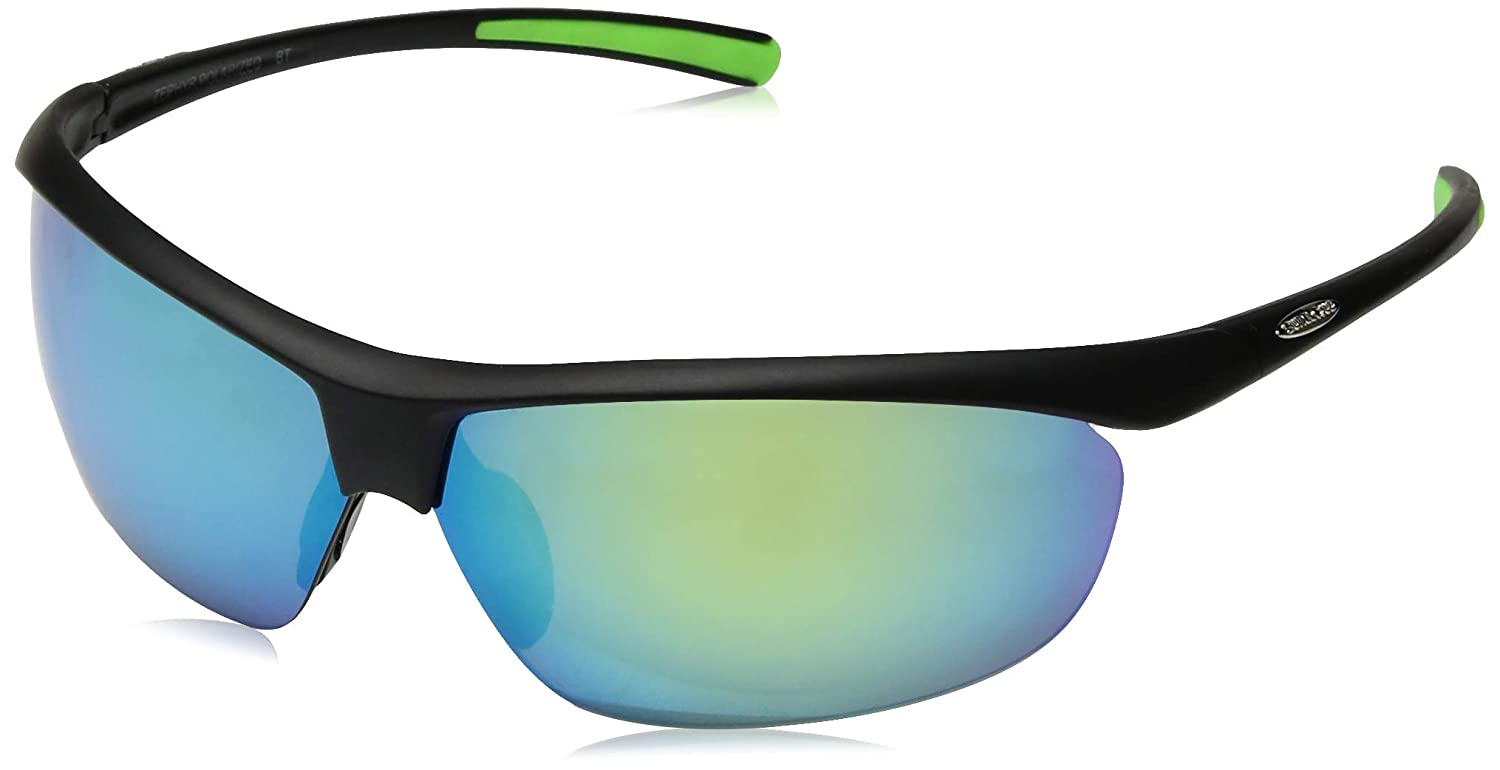 dfac0ca7d4 Amazon.com  Suncloud Zephyr Polarized Sunglass (Black Frame Gray Polar  Lens)  Sports   Outdoors