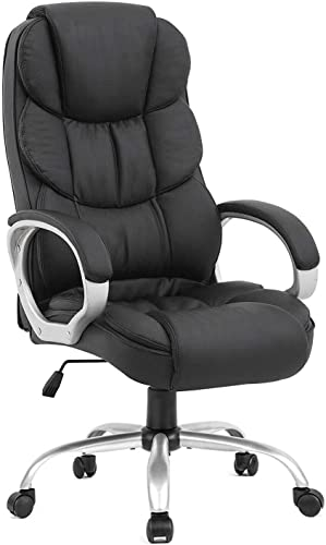 Diximus Office Chair Desk Ergonomic Swivel Executive Adjustable Task Computer High Back Chair