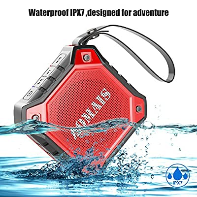 AOMAIS Ultra Portable Wireless Bluetooth Speakers with 8W Output Loud Sound,Waterproof IPX7 Floating,Stereo Pairing,Shockproof,Dustproof