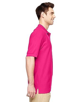 764f2dd6 Gildan Premium CottonTM 6.5 oz. Double Piqué Sport Shirt, 2XL, HELICONIA at  Amazon Men's Clothing store: