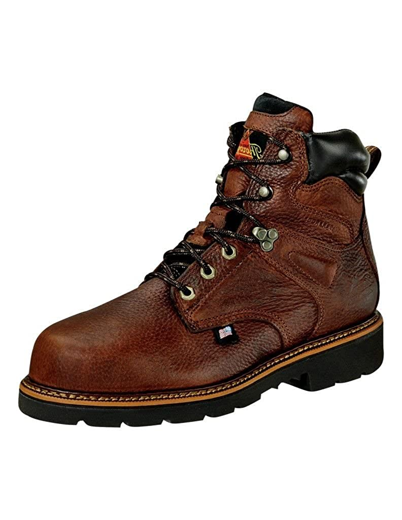 10.5 Brown 2E Thorogood Mens 6 Waterproof Safety Toe Leather Work Boots