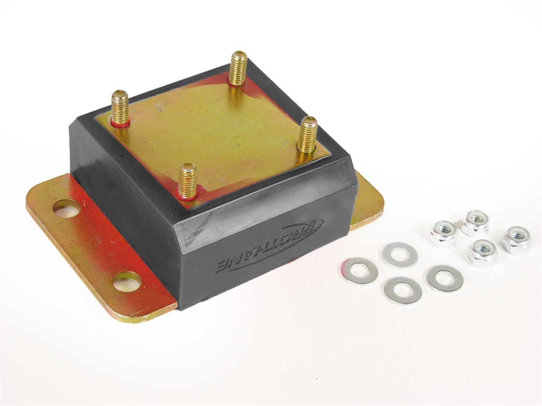 Prothane 1-1601-BL Black Transmission Mount Kit for TJ by Prothane