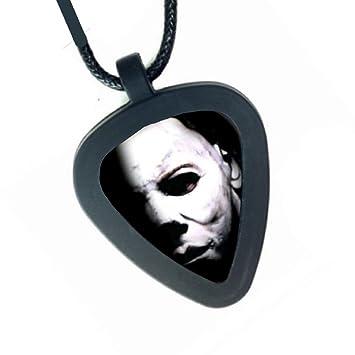 Halloween máscara de Michael Myers de la película pickbandz para hombre o para mujer Real collar