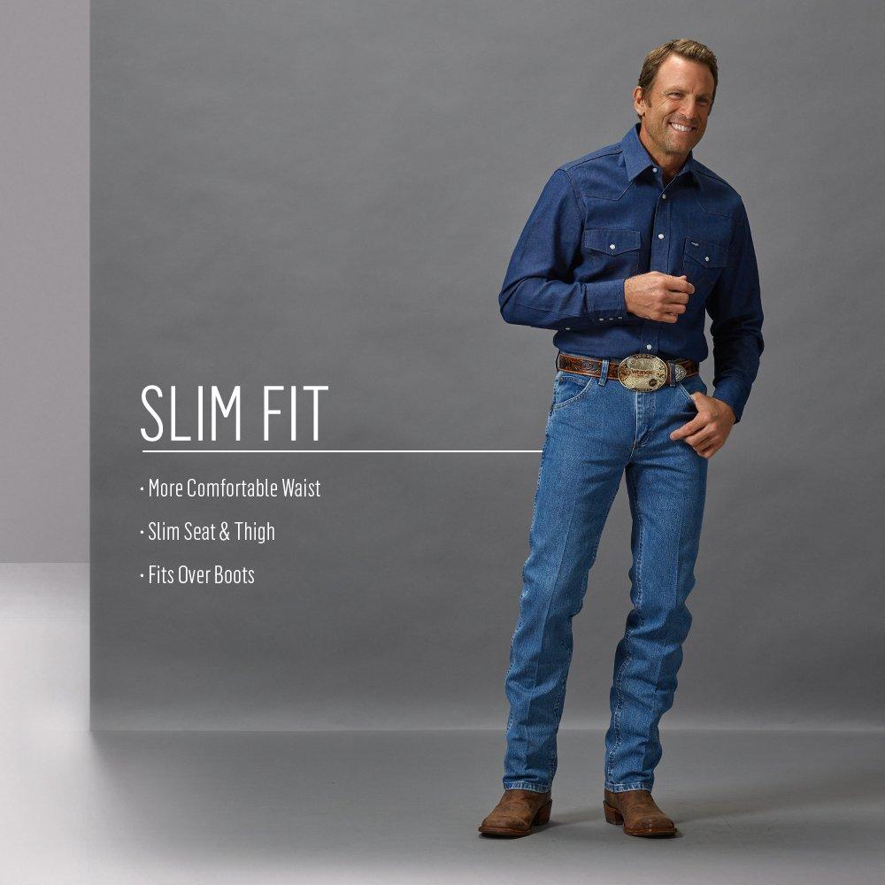 1ffcc0d0 Wrangler Men's Premium Performance Cowboy Cut Jean, Dark Stone, 36x30 -  36MWZDS < Jeans < Clothing, Shoes & Jewelry - tibs