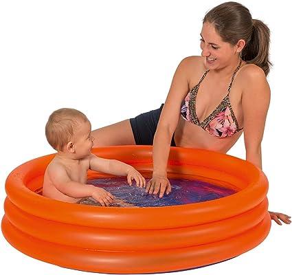 Smart Planet® Piscina infantil para bebés, 100 cm, pequeña piscina para baño para bebés y niños pequeños