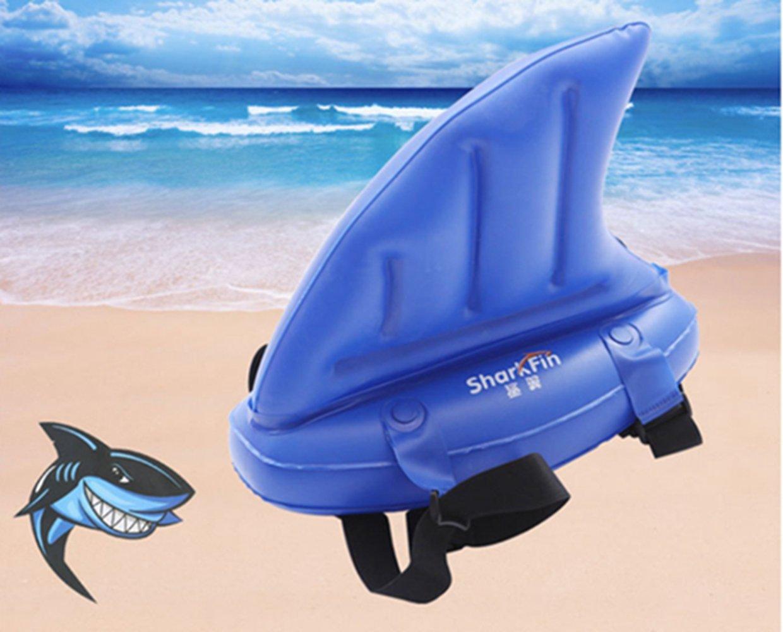 Ivie Shark Fin - Flotador Hinchable para Niños, Juguete Hinchable para Natación, Piscina, Playa, Natación, Entrenamiento, Dispositivo para Niños para ...