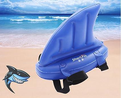 Ivie Shark Fin - Flotador Hinchable para Niños, Juguete Hinchable para Natación, Piscina,