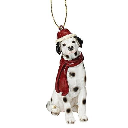 christmas ornaments xmas dalmatian holiday dog ornaments