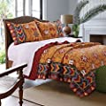 Greenland Home Farrah 100% Cotton Quilt Set