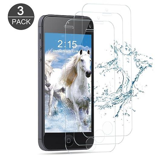 17 opinioni per [3-Pack] Vetro Temperato iPhone 5S / SE / 5C / 5, Vanzon Pellicola Protettiva in