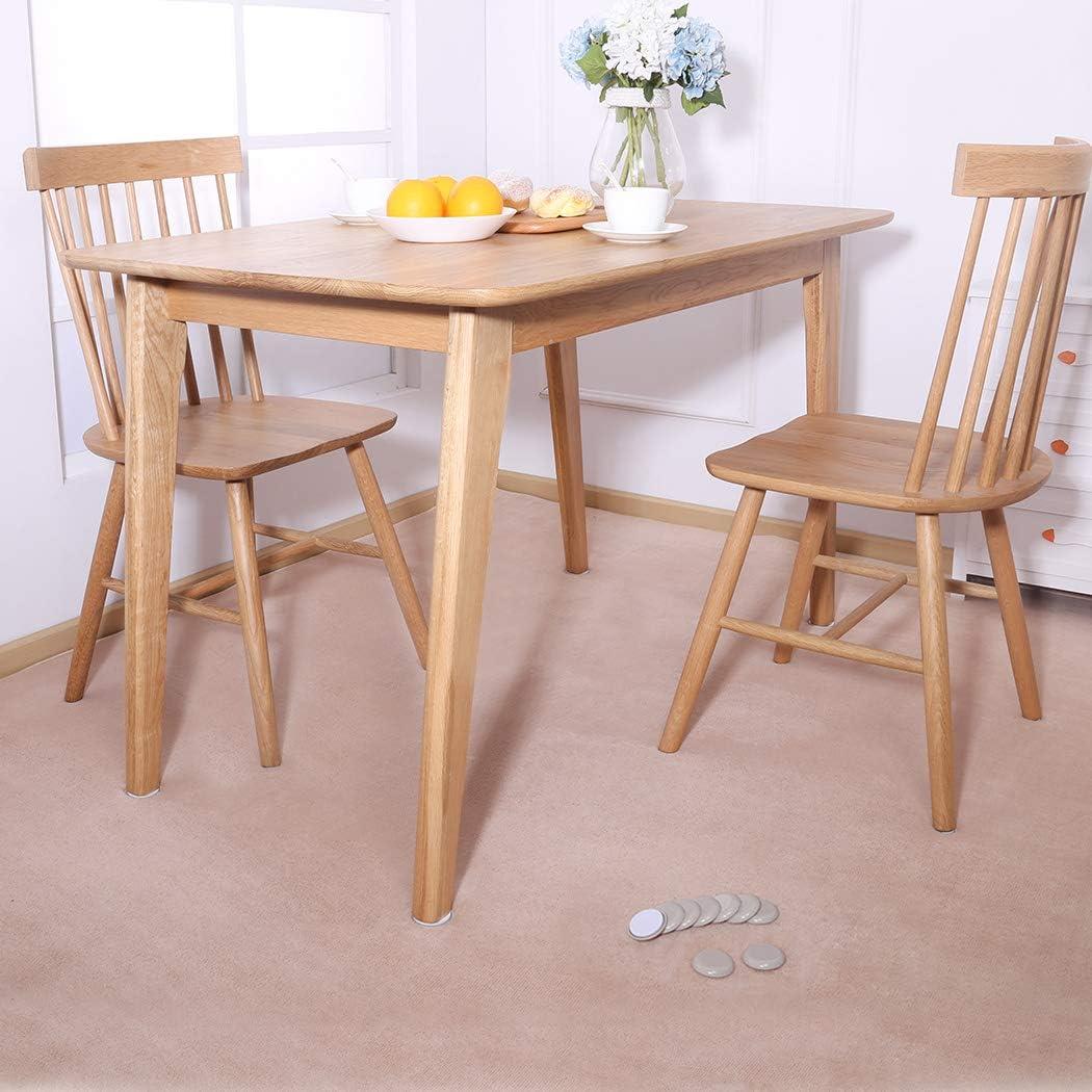 mobili e mobili 45 mm per moquette Cuscinetti rotondi per mobili Ezprotekt confezione da 24 pezzi
