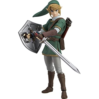 Good Smile The Legend of Zelda Twilight Princess Link (Deluxe Version) Figma Action Figure: Toys & Games