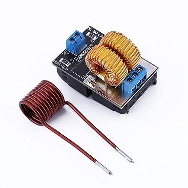 Acogedor ZVS Módulo de Calefacción de Bajo Voltaje, 5v-12v ZVS ...