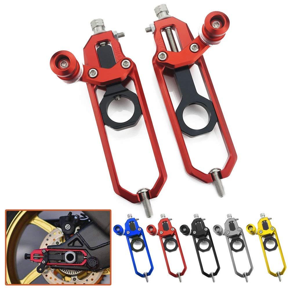 Tendeurs de chaî ne Heinmo avec ré glage de la bobine pour S1000RR 2009-16 S1000R Tendeurs de chaî ne HP4 Heinmo Plus