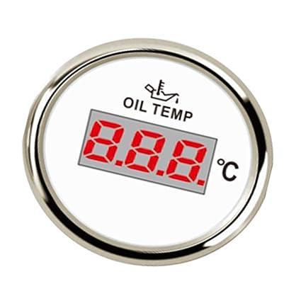 Homyl 1 Pieza de Calibrador de Temperatura de Aceite ...