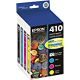 Epson T410520 (410) Ink Cartridge, Photo Black/Cyan/Magenta/Yellow, 4/PK