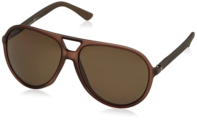 gucci sunglasses. gucci sunglasses - 1090 / frame: brown lens: bronze polarized