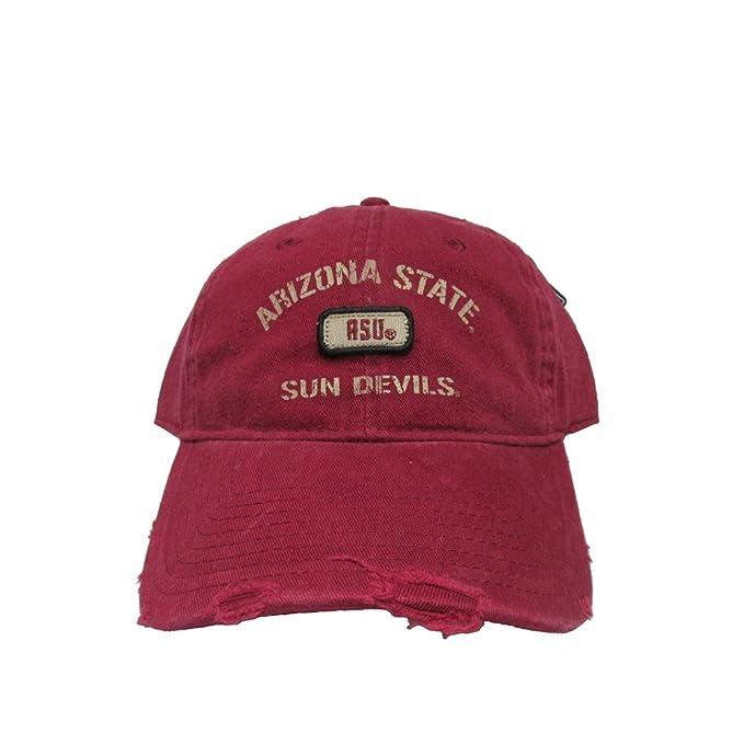 Rob sTees Arizona State University Sun Devils Distressed Polo Style ... eef7c5c3e80