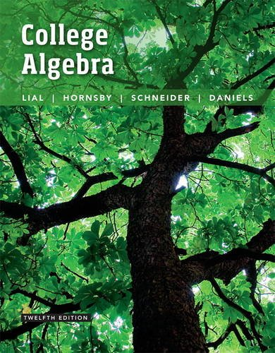 134217454 - College Algebra (12th Edition)