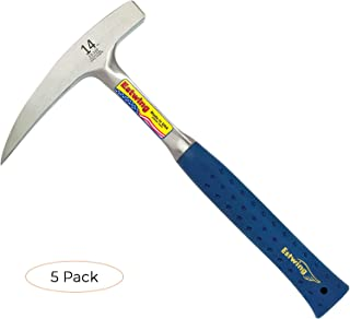 product image for Estwing Rock Pick - 14 oz Geological Hammer with Pointed Tip & Shock Reduction Grip - E3-14P (Fivе Расk)