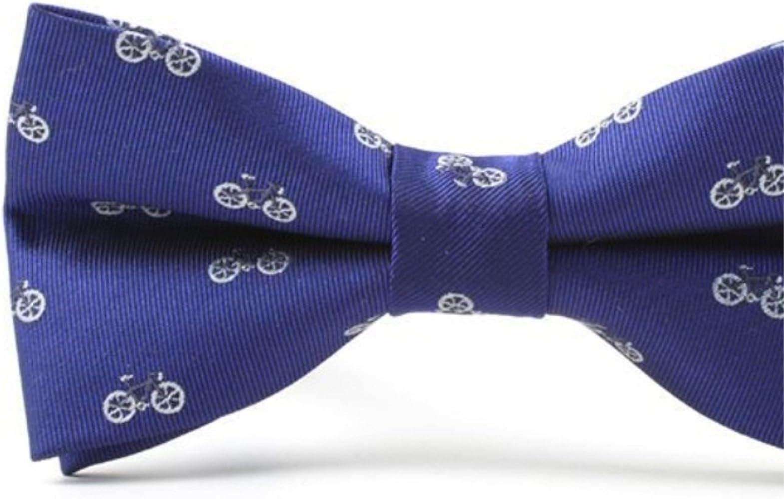 Huyizhi Los hombres azules forman el patrón de la bici pajaritas ...