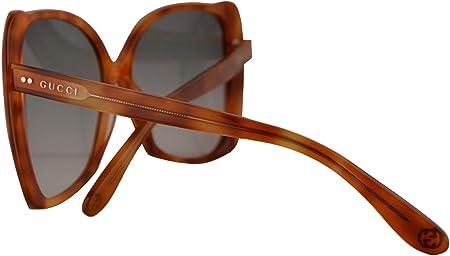 Gucci GG0471S Gafas De Sol Havana Con Lentes Verde Oscuro Degradado 62mm 003 GG0471/S 0471/S GG 0471S