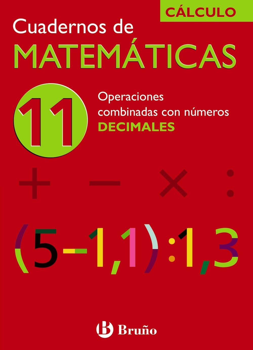 Download Operaciones combinadas con numeros decimales/ Combined Operations with Decimal Numbers (Cuadernos De Matematicas) (Spanish Edition) pdf