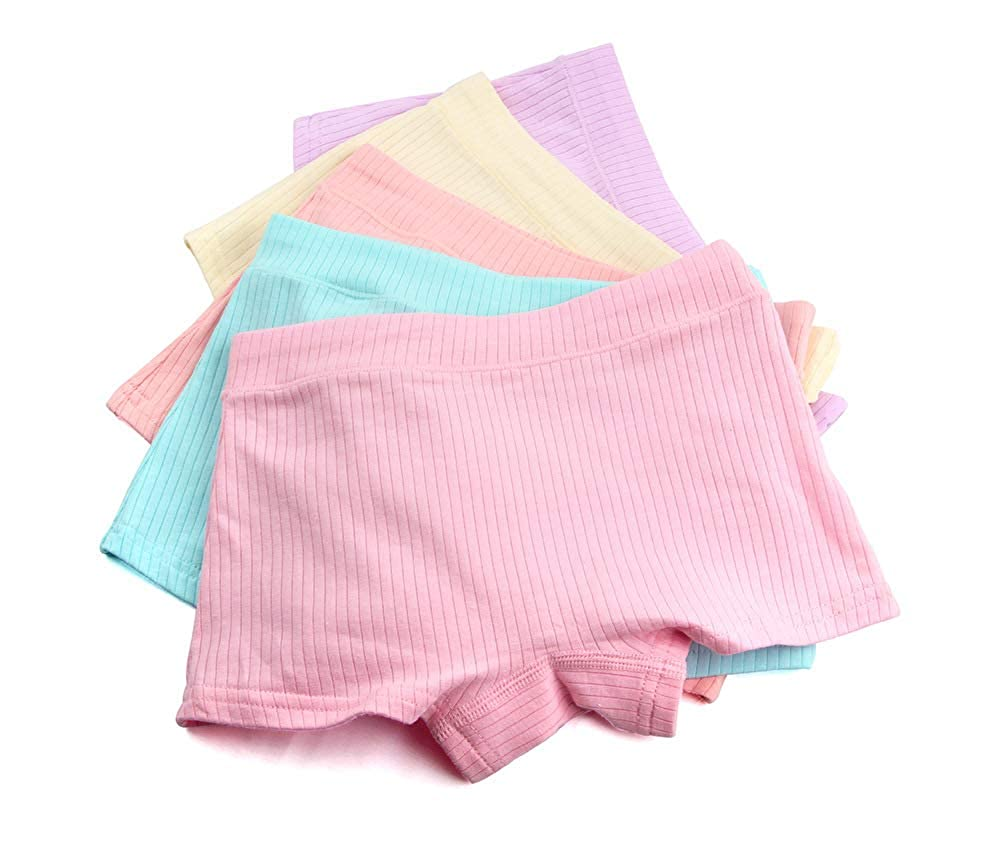 5PCS//lot Girls Cartoon Panties Lovely Rabbit Underwear Kids Underpants Baby Toddlers Briefs 3-13 Years
