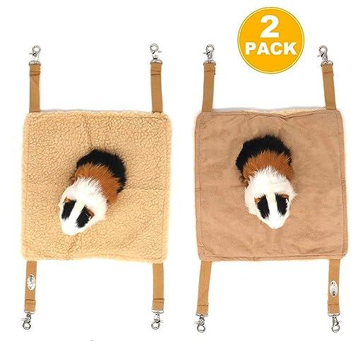 EONMIR 2Pack Small Pet Animal Hamster Hammock
