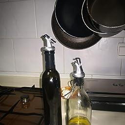 Compra Morza Botella de Aceite de Oliva pulverizador Canalón del ...