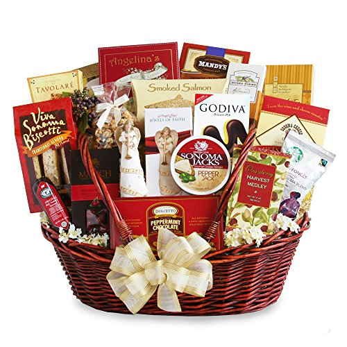 California Delicious Gift Basket, Peace and Prayer Sympathy by California Delicious