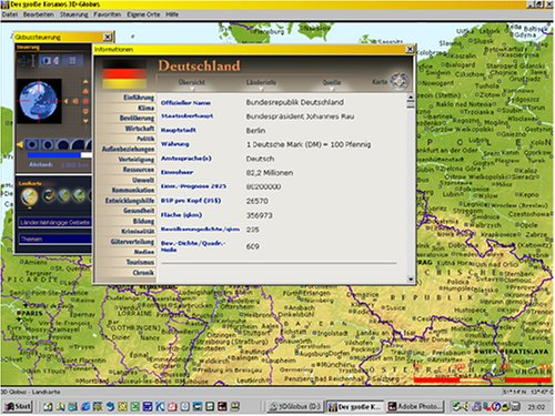 Der große kosmos 3d globus: amazon.de: software