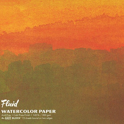 Global Art Fluid Watercolor Blocks 6 in. x 8 in. block