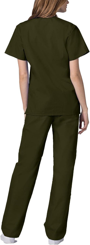 Uniforme M/édical avec Haut et Pantalon Adar Ensemble Uniformes Unisexe Blouse