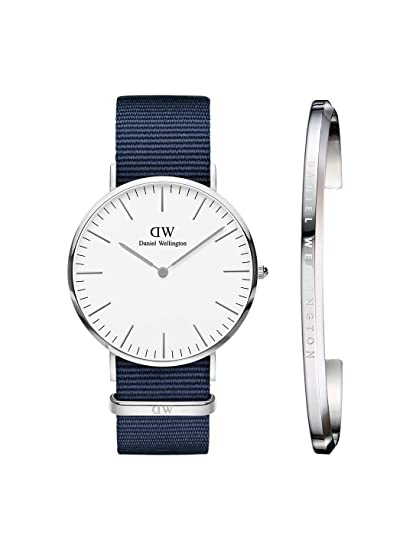 7138cbf63862 Image Unavailable. Image not available for. Colour  Daniel Wellington  Classic Bayswater 40mm Silver ...