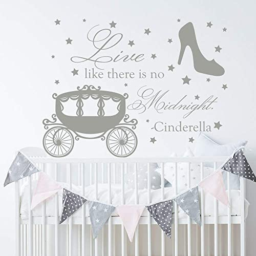 Amazon Cinderella Wall Decal Cinderella Quotes Girl Bedroom Unique Cinderella Quotes