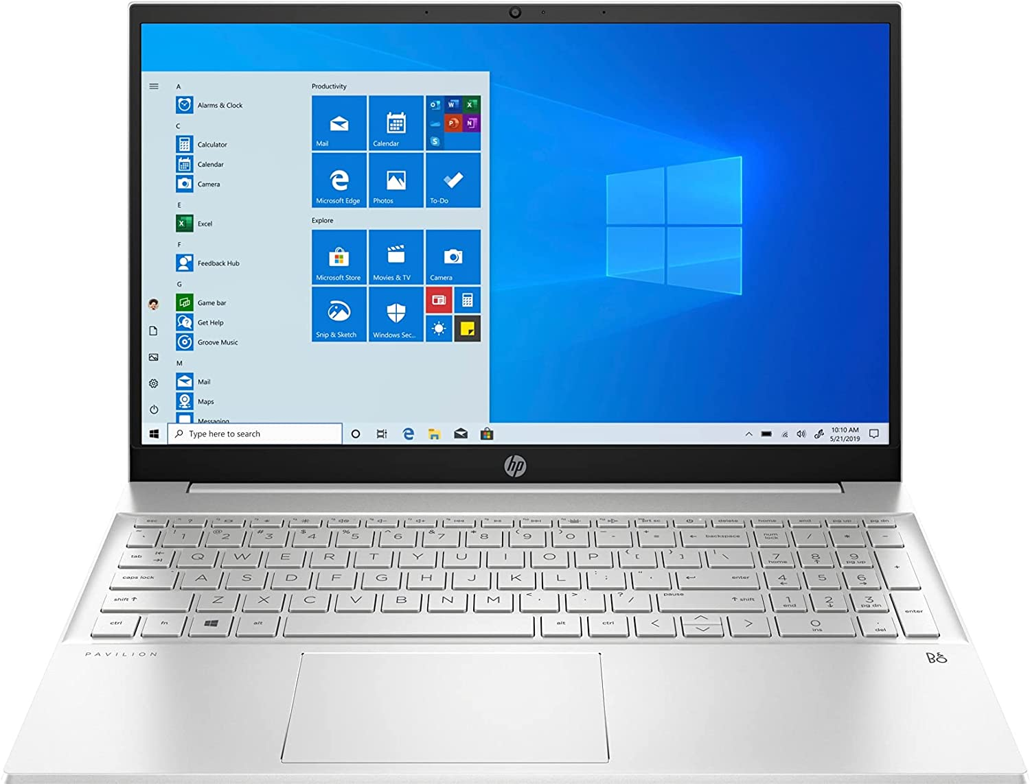 CUK Pavilion 15t Touch Business Notebook (Intel Core i7, 32GB RAM, 1TB NVMe SSD, 15.6