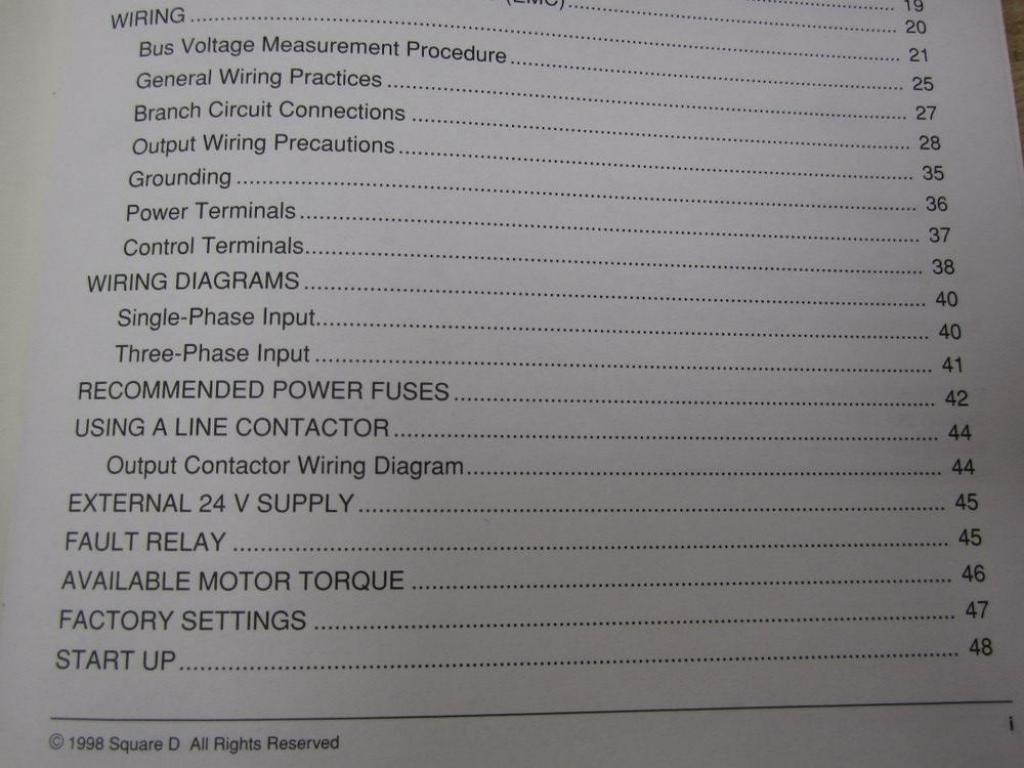 Square D Vvded397048us Manual Altivar 58 Industrial 61 Control Wiring Diagram Scientific