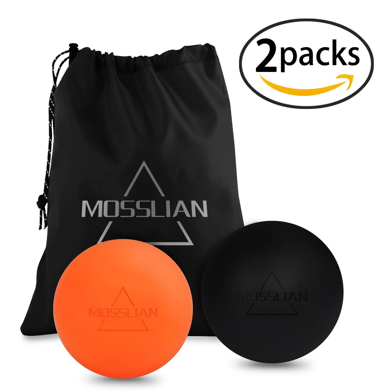 MOSSLIAN Bola de Lacrosse Pelota Masaje Movilidad Bolas Massage Ball Bolas de
