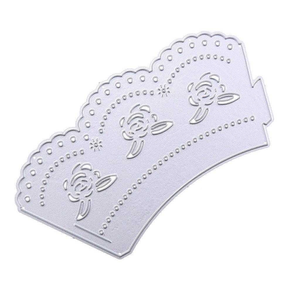 Stanzungen Schneeflocke Metall Stanzformen Schablonen DIY Scrapbooking Album Papier Karte hausgarten k/üche kunsthandwerk Scrapbooking stanzformen