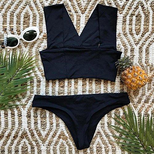 a6bcabe6cd1c Bbestseller Bikini mujer, playa Parte de Arriba Bikini Push Up ...