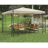 Cheap Sunjoy Replacement Canopy for 10×10 ft Gazebo
