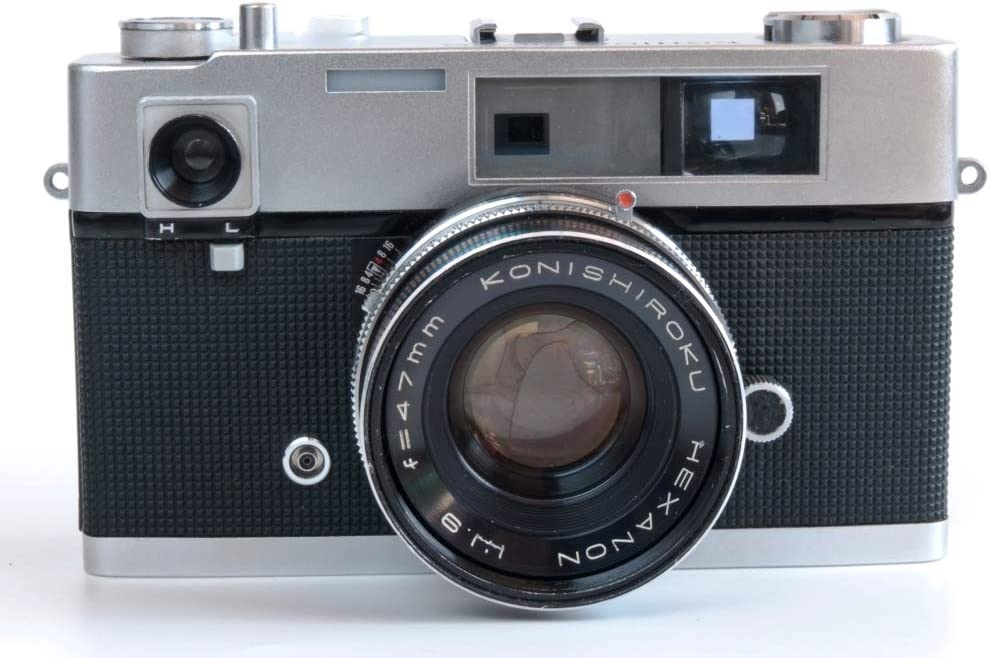 Konica Auto S con Hexanon Konishiroku 47mm F1.9: Amazon.es ...