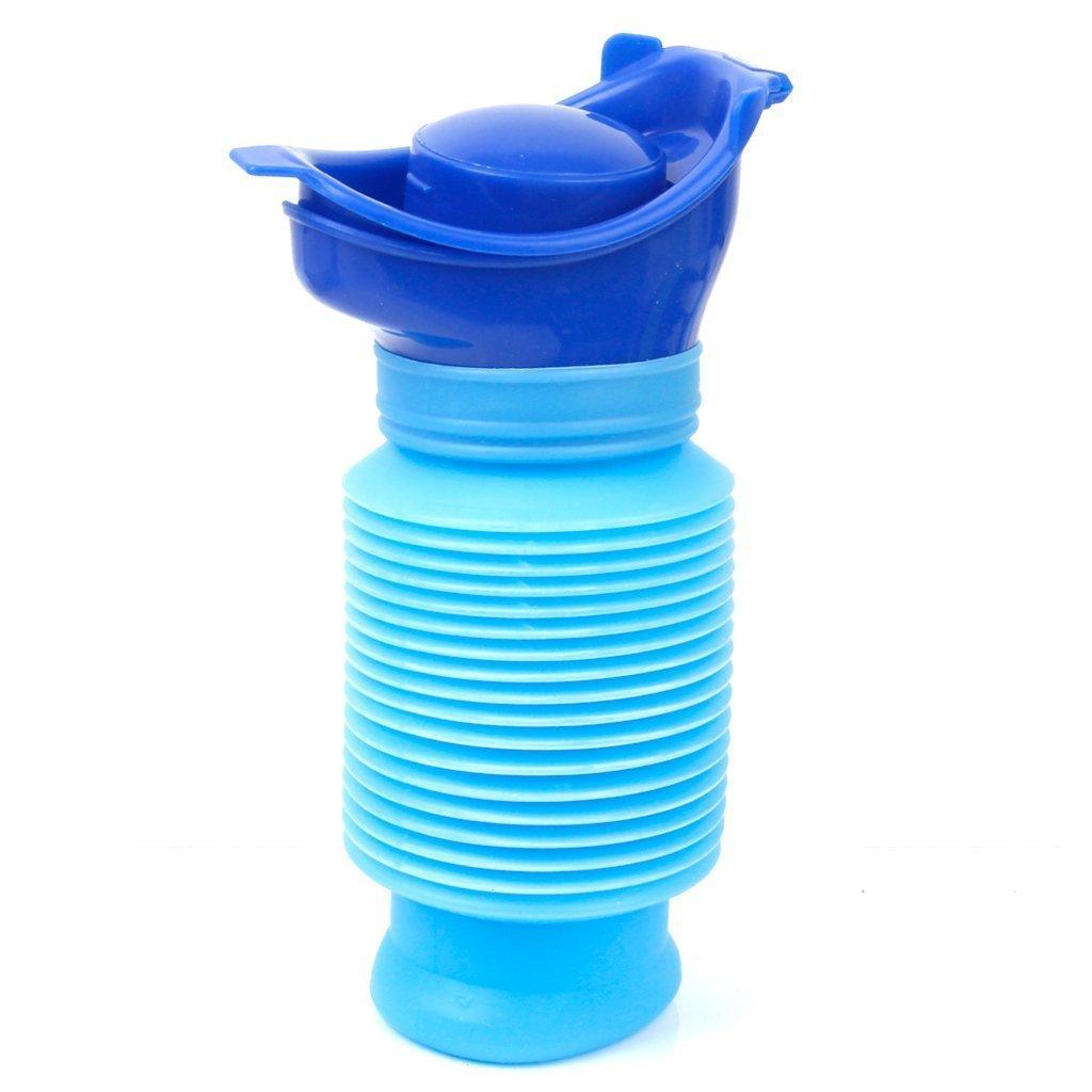 TOOGOO(R) Bucket portatile Famiglia Unisex mini acqua urinaria per viaggi e Kid Potty Pee Training 750ML SPAGMA47426